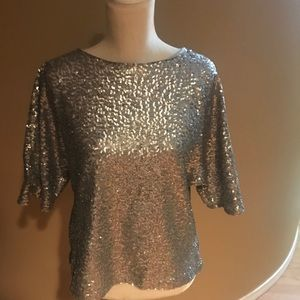 Beautiful gap sequined blouse...
